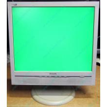 """Б/У монитор 17"""" Philips 170B с колонками и USB-хабом в Дербенте, белый (Дербент)"""