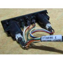 HP 224998-001 в Дербенте, кнопка включения питания HP 224998-001 с кабелем для сервера HP ML370 G4 (Дербент)