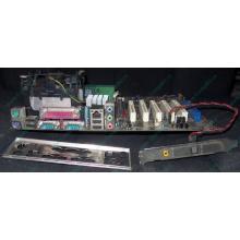 Материнская плата Asus P4PE (FireWire) с процессором Intel Pentium-4 2.4GHz s.478 и памятью 768Mb DDR1 Б/У (Дербент)