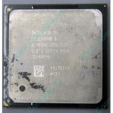 Процессор Intel Celeron D (2.4GHz /256kb /533MHz) SL87J s.478 (Дербент)
